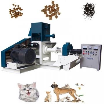 Dry Dog Cat Pet Food Production Line Animal Food Making Machine